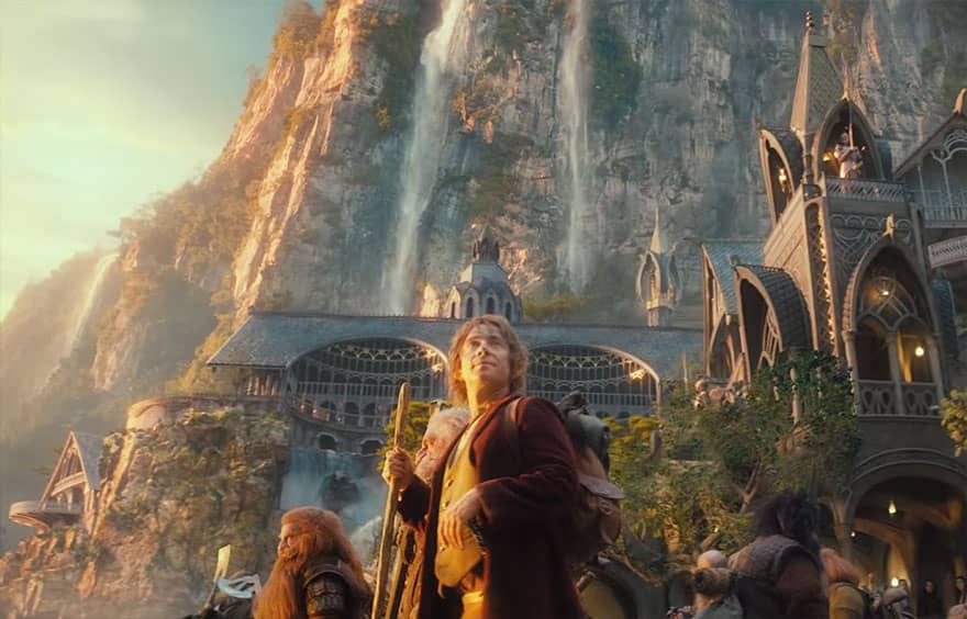 The Hobbit kamera arkası