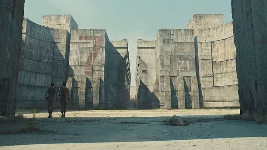 The Maze Runner kamera arkası
